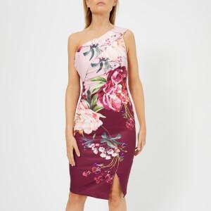 Ted Baker Women's Irlina Serenity One Shoulder Dress - Lilac