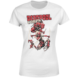 Marvel Deadpool Family Corps Women's T-Shirt - White