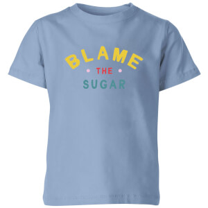 My Little Rascal Blame The Sugar - Baby Blue Kids' T-Shirt