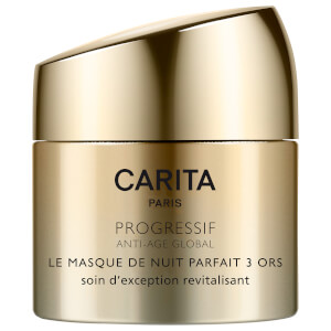 Mascarilla de noche Perfect Night Trio of Gold de Carita 50 ml