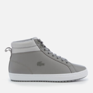 Lacoste Women's Straigthset Insulate C 318 1 Water Resistant Leather Chukka Boots - Grey/Light Grey