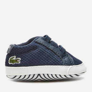 Lacoste Babies' L.12.12 Crib 318 1 Trainers - Navy/White