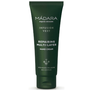 MÁDARA Infusion Vert Repairing Multi-Layer Hand Cream regenerujący krem do rąk 75 ml