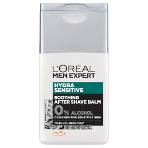 Bálsamo Aftershave Men Expert Hydra Sensitive da L'Oréal Paris 125 ml