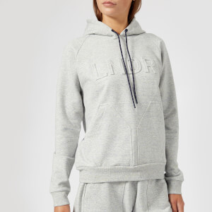LNDR Women's College Press Hoodie - Grey Marl
