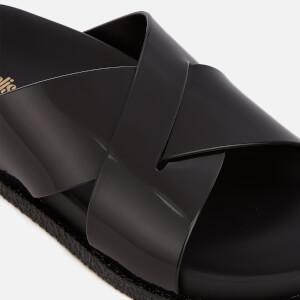 Melissa Women's Energy Cross Slide Sandals - Black: Image 3