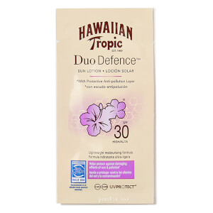 Hawaiian Tropic Duo Defence Sun Lotion SPF 30