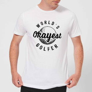 World's Okayest Golfer Men's T-Shirt - White