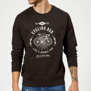 Cycling Dad Sweatshirt - Black