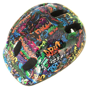 Coyote Kids Graffiti Bike Helmet - M/52-55cm