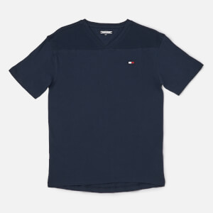 Tommy Hilfiger Boy's Sports Pique Mix T-Shirt - Black Iris