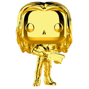 Marvel MS 10 Gamora Gold Chrome Funko Pop! Vinyl