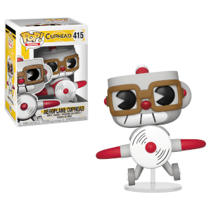 Figurine Pop! Cuphead en Avion