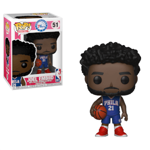 Figurine Pop! NBA 76ers Joel Embiid