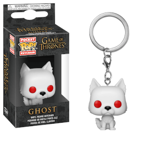 Portachiavi Funko Pop! Ghost - Game of Thrones