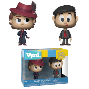 Disney Mary Poppins and Jack the Lamplighter Funko Vynl.