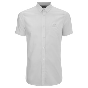 Threadbare Men's Alfa Short Sleeve Shirt - White