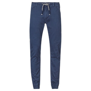 Threadbare Men's Jeffery Cuffed Chinos - Navy