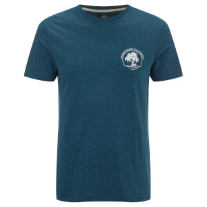 Threadbare Men's Venice Beach T-Shirt - Ocean Blue Marl