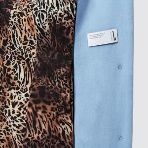 Saks Potts Women's Yvonne Sky Blue Coat - Blue: Image 5