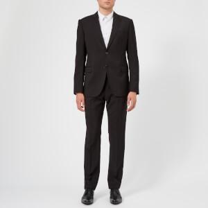 Emporio Armani Men's M Line Single Breasted Suit - Nero