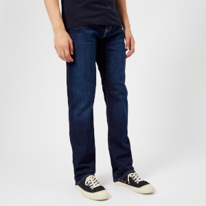 Emporio Armani Men's 5 Pocket Slim Denim Jeans - Denim Blue