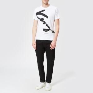 KENZO Men's Signature T-Shirt - White: Image 3
