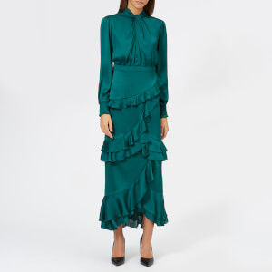 Three Floor Women's Jedi Midi Dress - Galapogos Green