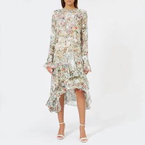 Preen By Thornton Bregazzi Women's Doris Dress - Nude Plastic Floral