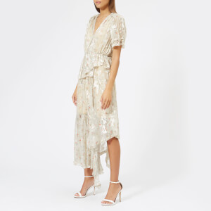 Preen By Thornton Bregazzi Women's Jayma Satin Dress - Nude Etched Floral