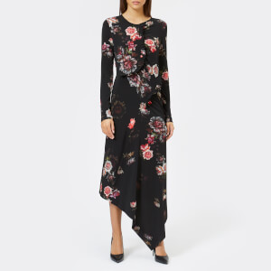 Preen By Thornton Bregazzi Women's Nita Stretch Dress - Grid Floral
