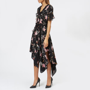 Preen By Thornton Bregazzi Women's Clara Dress - Black Plastic Foxglove