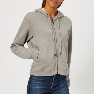 KENZO Women's Classic Tiger Molleton Zip Hoody - Grey