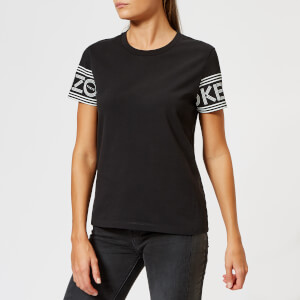 KENZO Women's Cotton Skate Jersey T-Shirt - Black