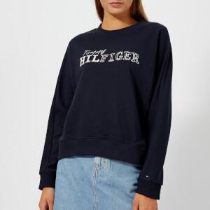 Tommy Hilfiger Women's Eline Crew Neck Sweatshirt - Navy