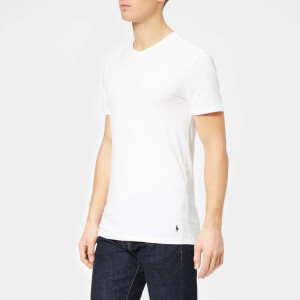 893d274c4 Polo Ralph Lauren Men s 3 Pack Short Sleeve Crew Neck T-Shirt - White