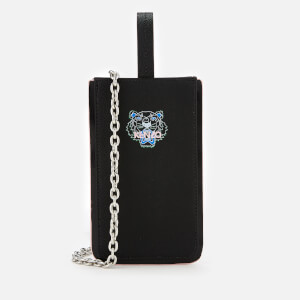 KENZO Women's Tiger Phone Case on Chain - Black