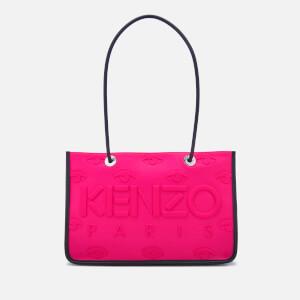 KENZO Women's Neoprene Tote Bag - Deep Fuchsia