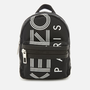 KENZO Women's Mini Nylon Rucksack - Black