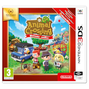 Nintendo Selects Animal Crossing: New Leaf - Welcome amiibo