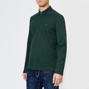 Lacoste Men's Long Sleeve Paris Polo Shirt - Sinople