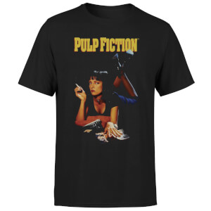 T-Shirt Homme Affiche Pulp Fiction - Noir