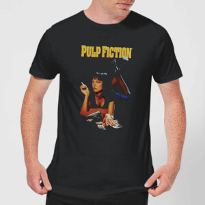 Pulp Fiction Poster Men's T-Shirt - Black