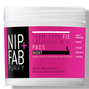 NIP+FAB Teen Skin Fix Salicylic Acid Night Pads 60 Pads
