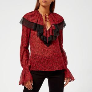 Philosophy di Lorenzo Serafini Women's William Morris Top - Red