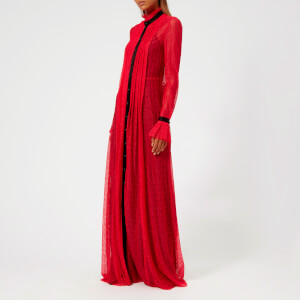 Philosophy di Lorenzo Serafini Women's Lace Long Dress - Red