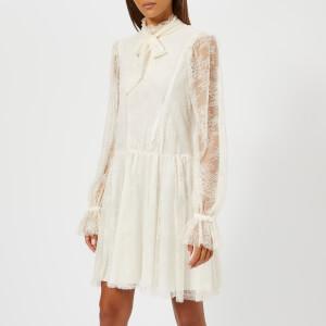 Philosophy di Lorenzo Serafini Women's Lace Short Dress - White