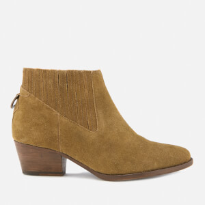 29592ee0a62f9e Hudson London Women s Ernest Suede Heeled Ankle Boots - Tan