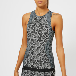adidas by Stella McCartney Women's Run Printed Tank Top - Black/White