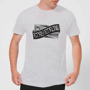 Stay Strong Ribbon Men's T-Shirt - Grey